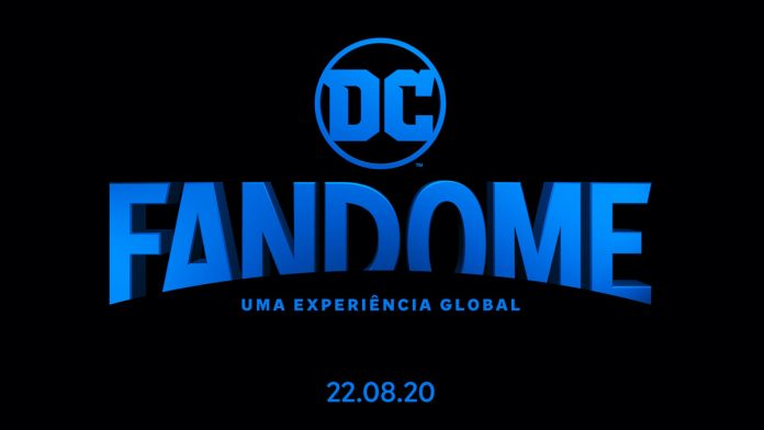 Logo do evento DC Fandome